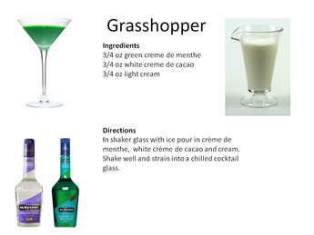 What Is In A Grasshopper Coffee Drink