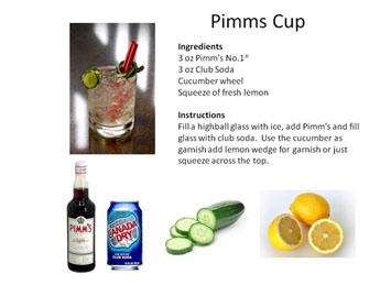 Aperitif midnight mixologist for What to mix with pimms