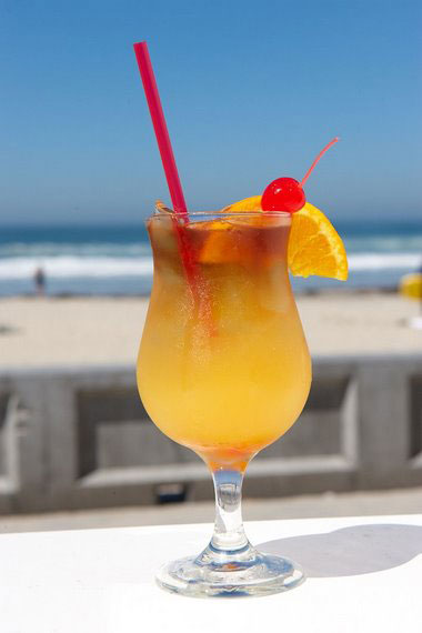 The Hawaiian Mimosa is a tropical cocktail made with sparkling wine ...