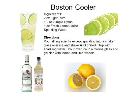 Orange Boston Cooler Recipes — Dishmaps