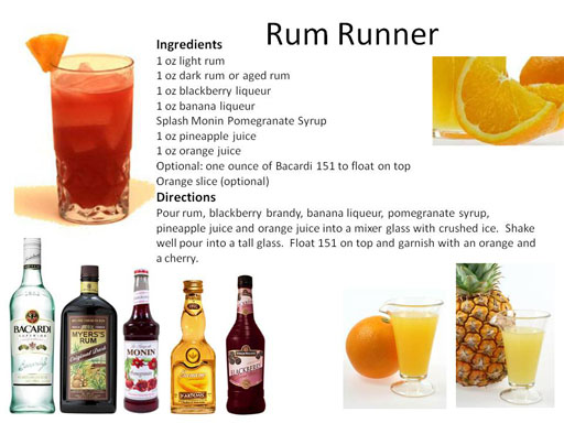 Rum Runner Drink Recipe