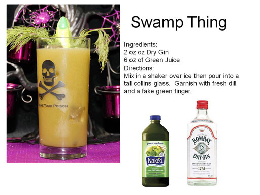 Pappadeaux Swamp Thing Drink Recipe