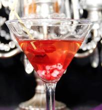 Bloody Bones Martini