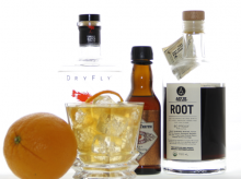 Orange Cardamom Gin and Tonic